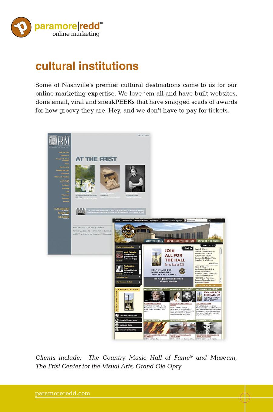 Paramore|Redd Case Study Brochure