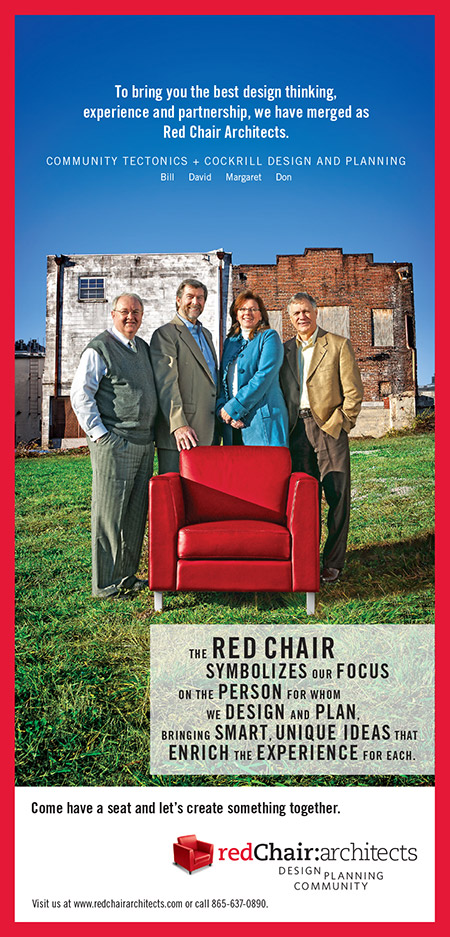 Red Chair Print Ad