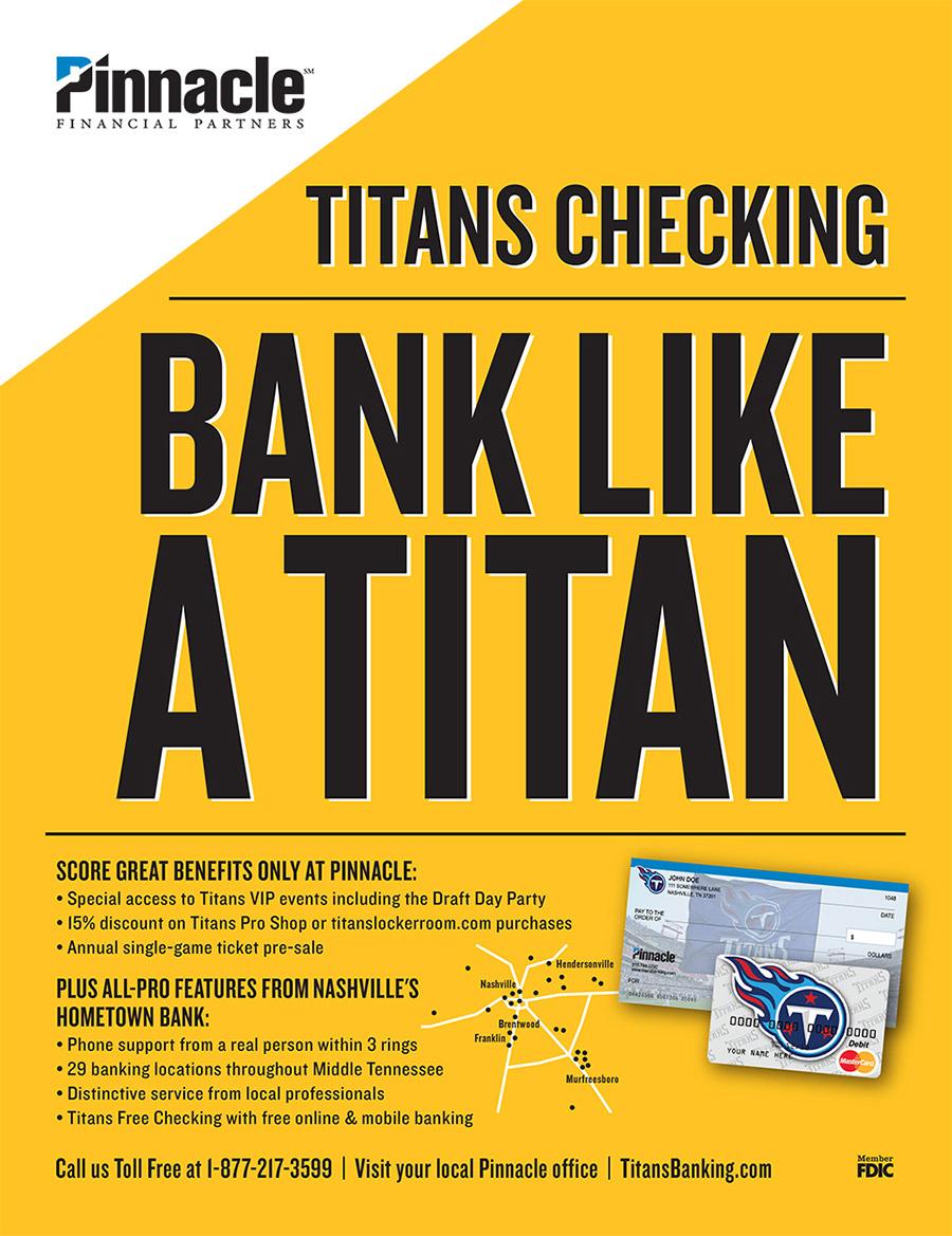 Pinnacle Titans Yearbook Ad