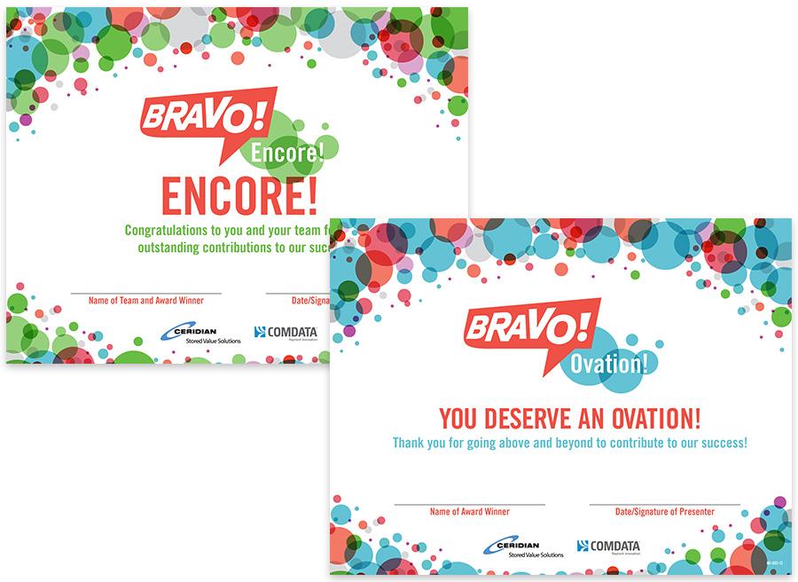 Bravo Certificates