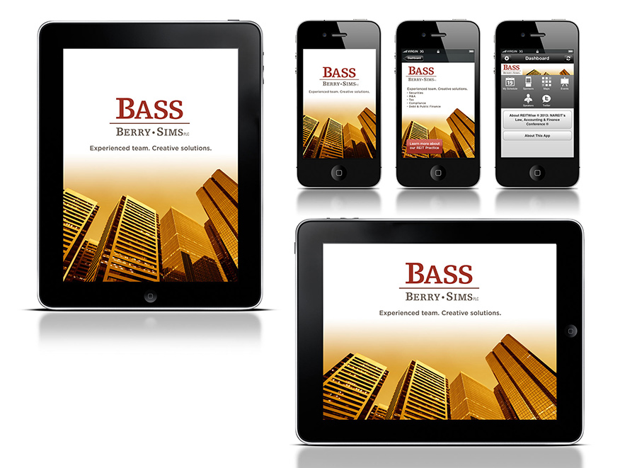 Bass Berry Sims REIT Mobile App Design