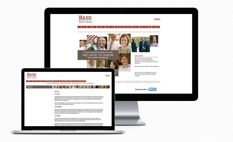 Bass Berry Sims Website