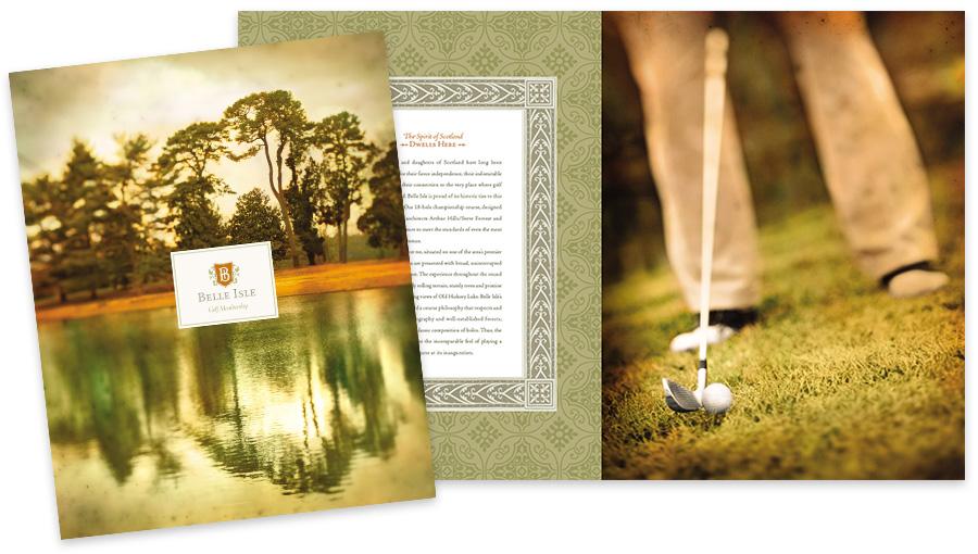 Belle Isle Golf Brochure