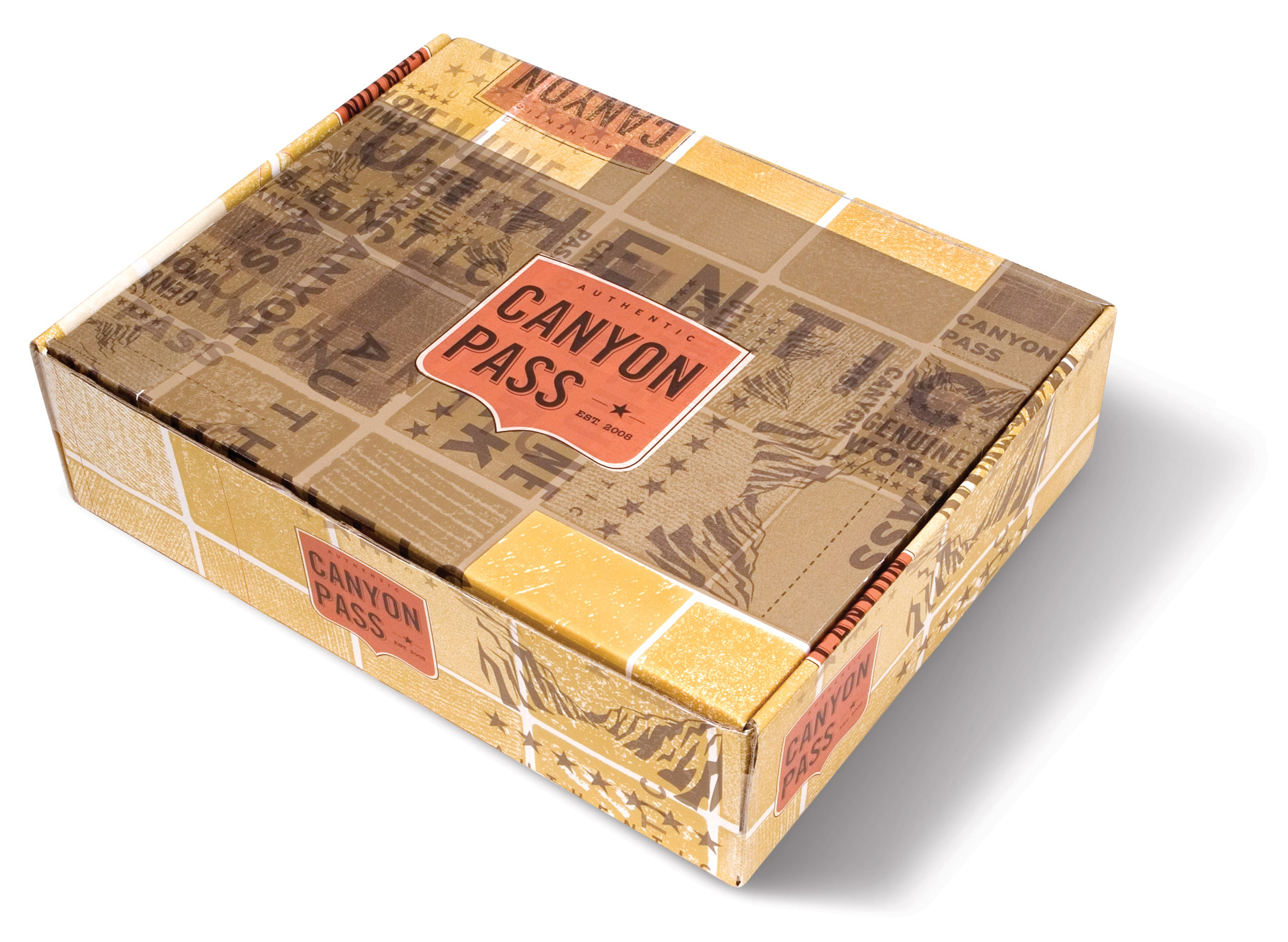 Canyon Pass Boot Box Packaging