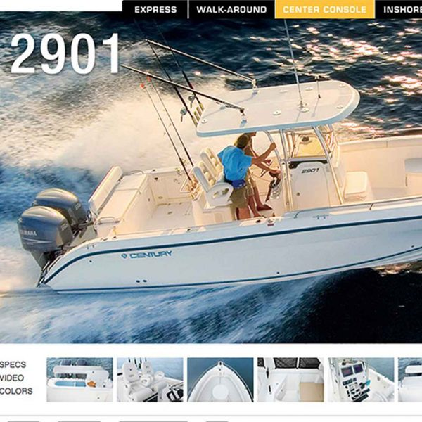 century-boats-website