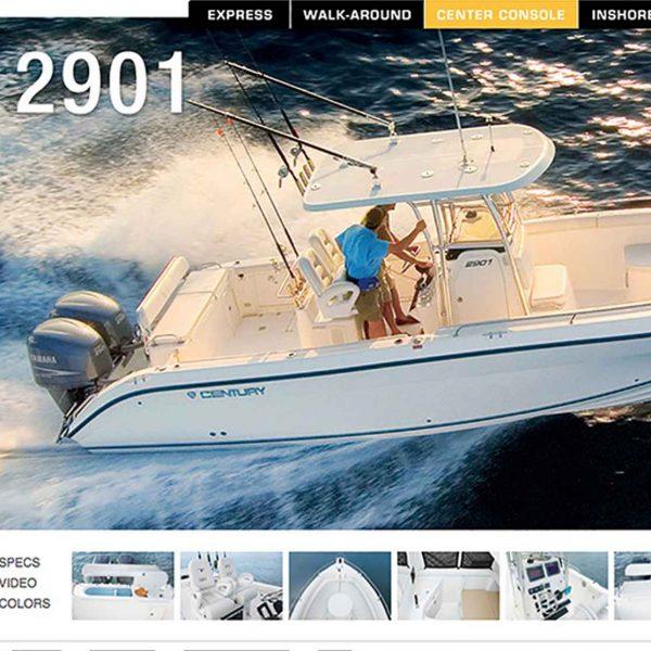 century-boats-website