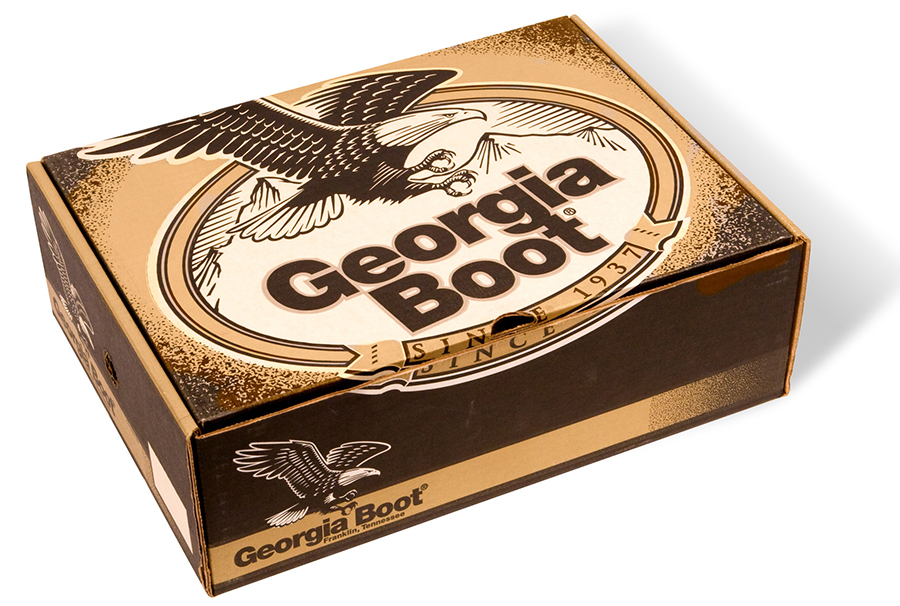 Georgia Boot Packaging