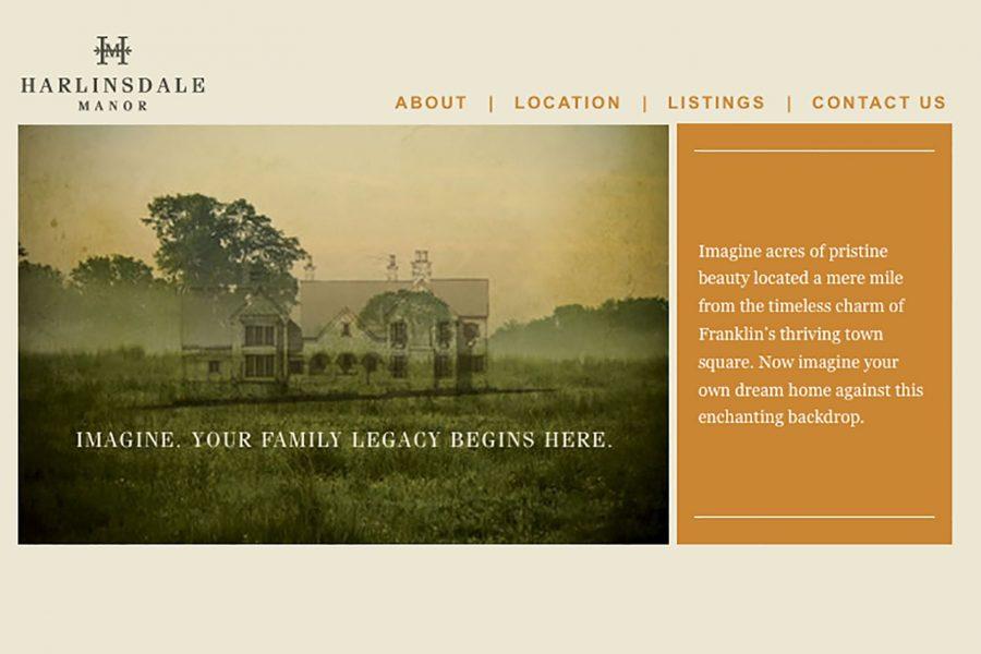 Harlinsdale Manor Website