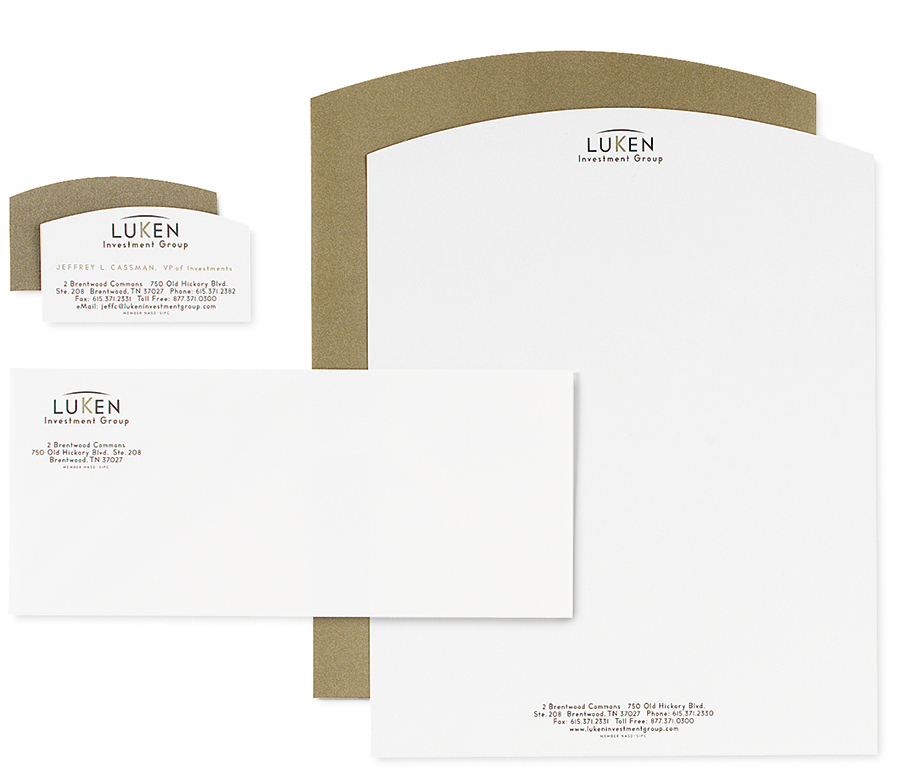 Luken Investment Group - Stationery Suite