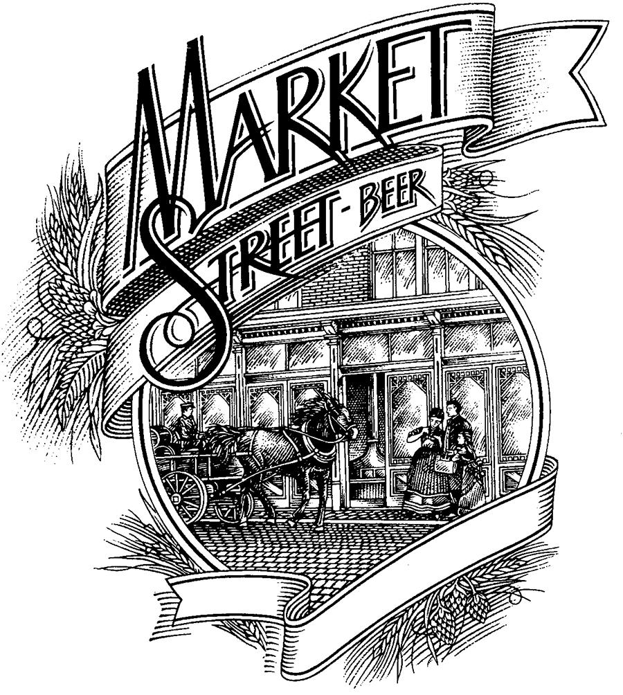 Market Street Beer Logo