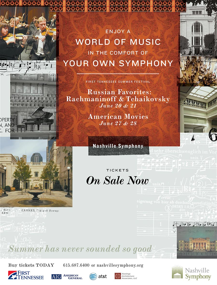 Nashville Symphony - Print Advertising