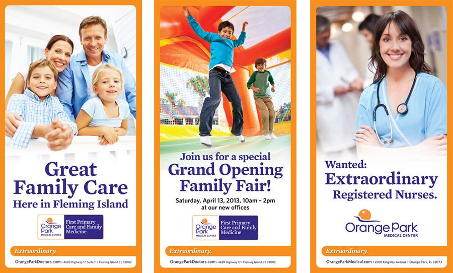 Orange Park Medical Center Flyers