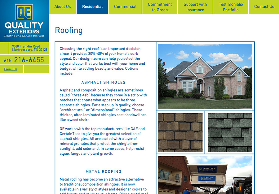 QE Construction Website