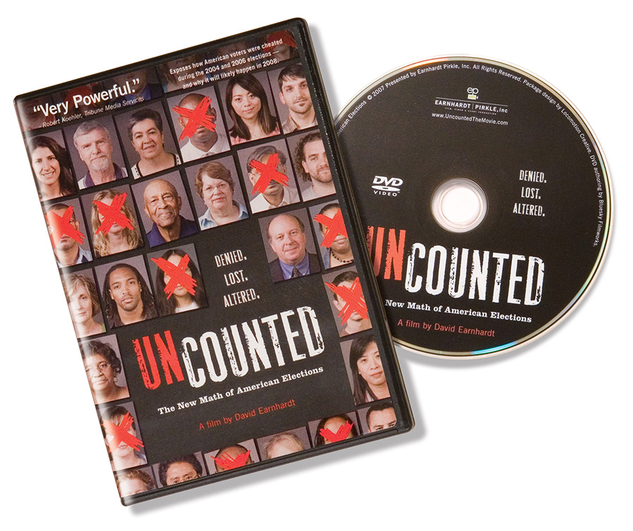 """Uncounted"" DVD Packaging"