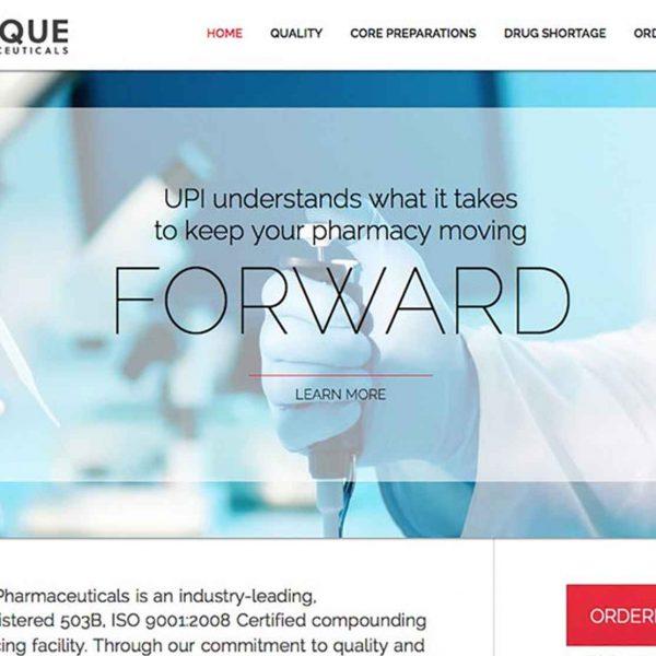unique-pharmaceuticals-website