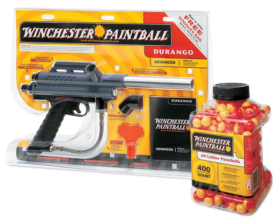 Winchester Paintball Packaging