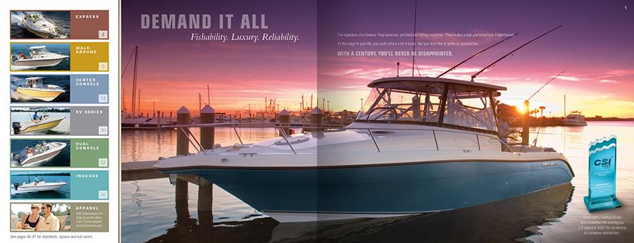Century Boats Catalog