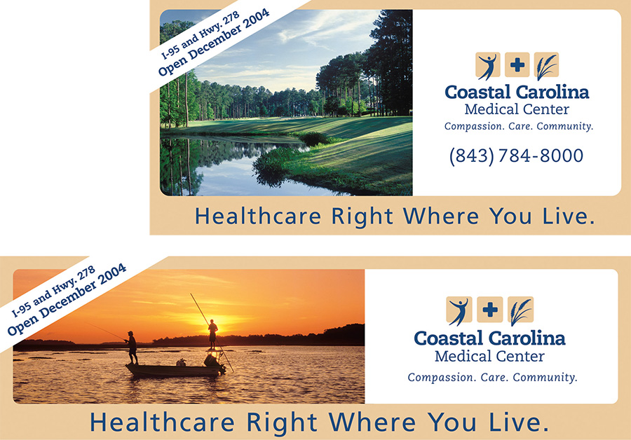 Coastal Carolina Medical Center Outdoor Board