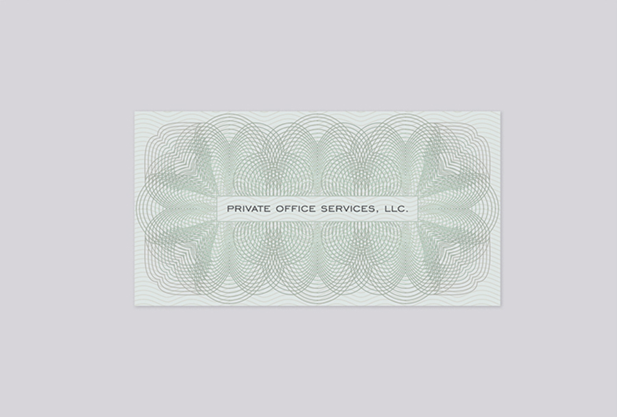 Private Office Direct Mail Envelope