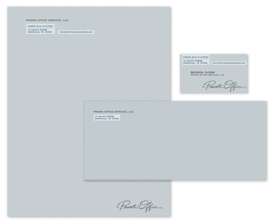 Private Office Stationery Suite