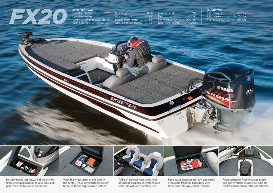 Skeeter Boats Freshwater Catalog 2012