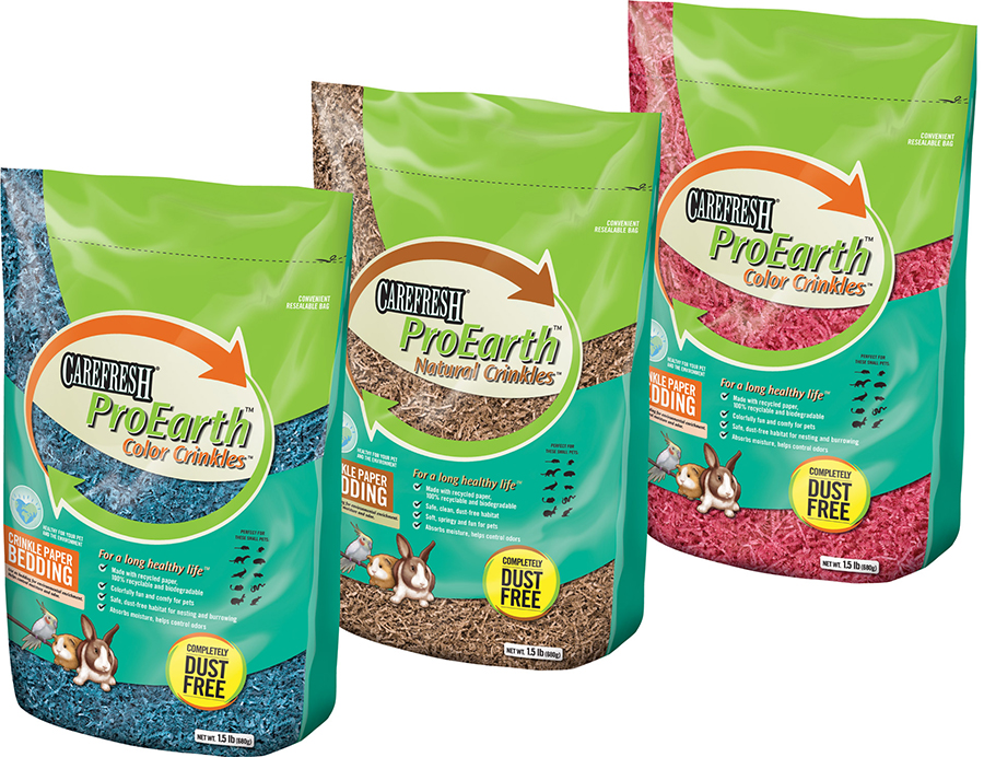 CareFRESH ProEarth Small Pet Bedding Packaging