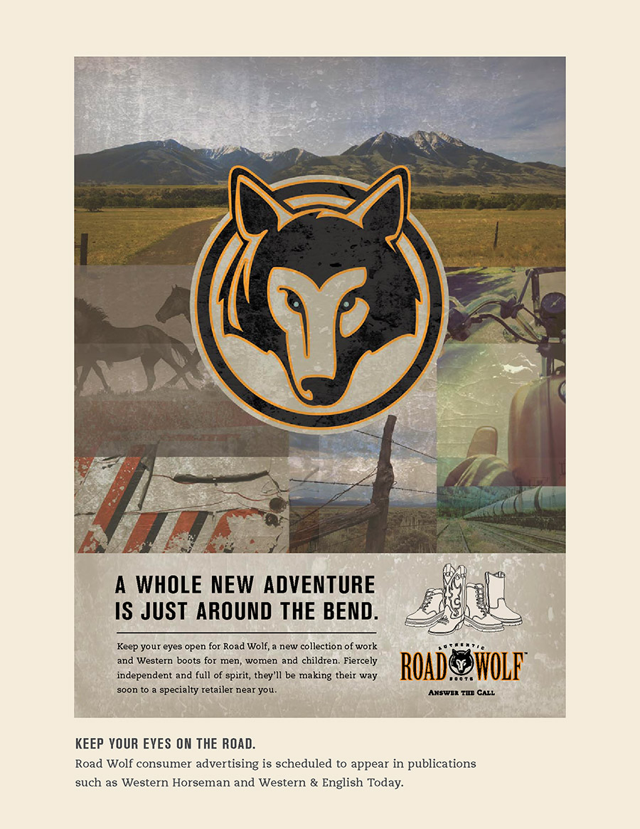 Road Wolf Brochure Insert