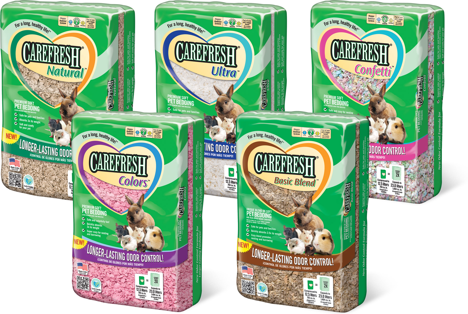 CareFRESH Small Pet Bedding Packaging