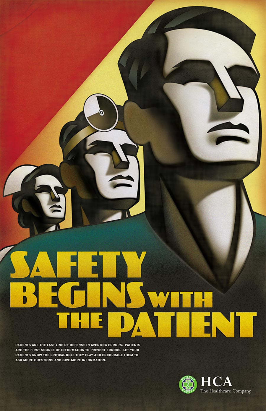 HCA Patient Safety Poster