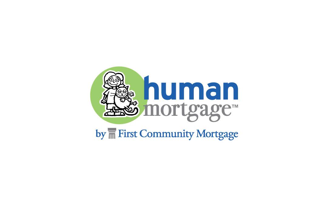 First Community Mortgage Human Mortgage Logo