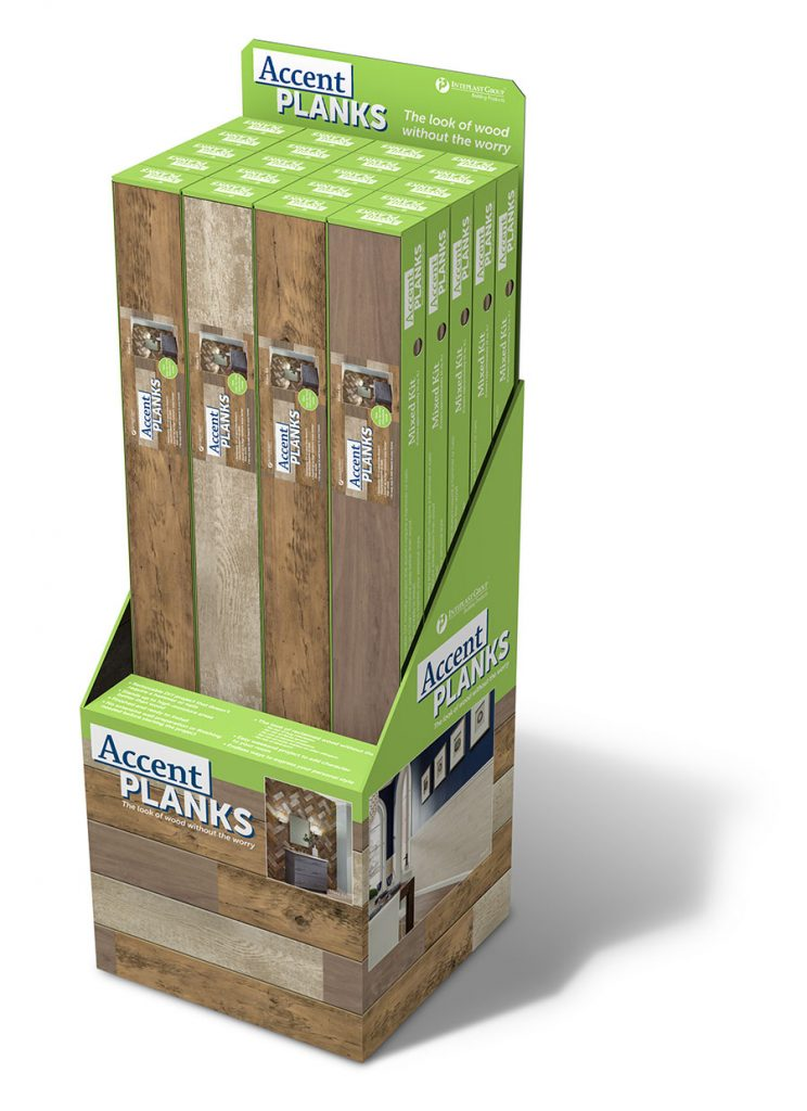 Inteplast Building Products Accent Planks Packaging