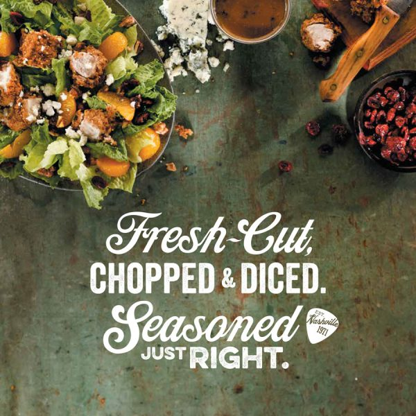O'Charley's Menu Cover - Seasoned Just Right