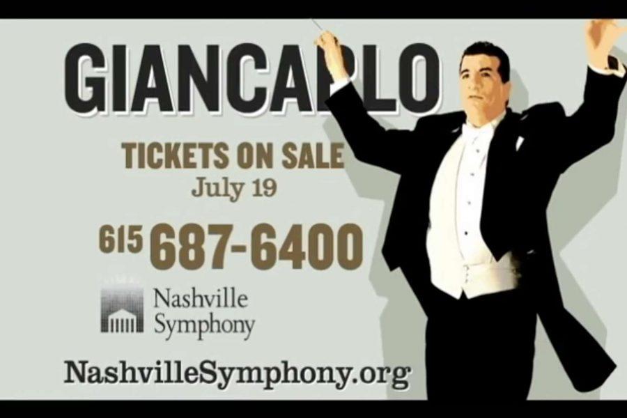Nashville Symphony TV Spot