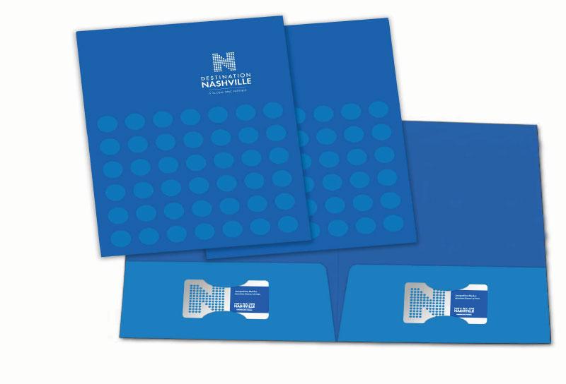 Destination Nashville Pocket Folder