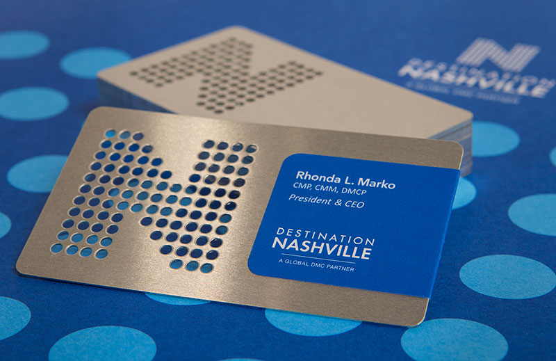 Destination Nashville Business Card
