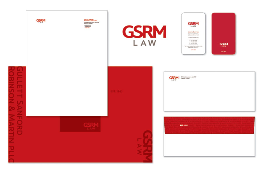 GSRM Law Stationery Package