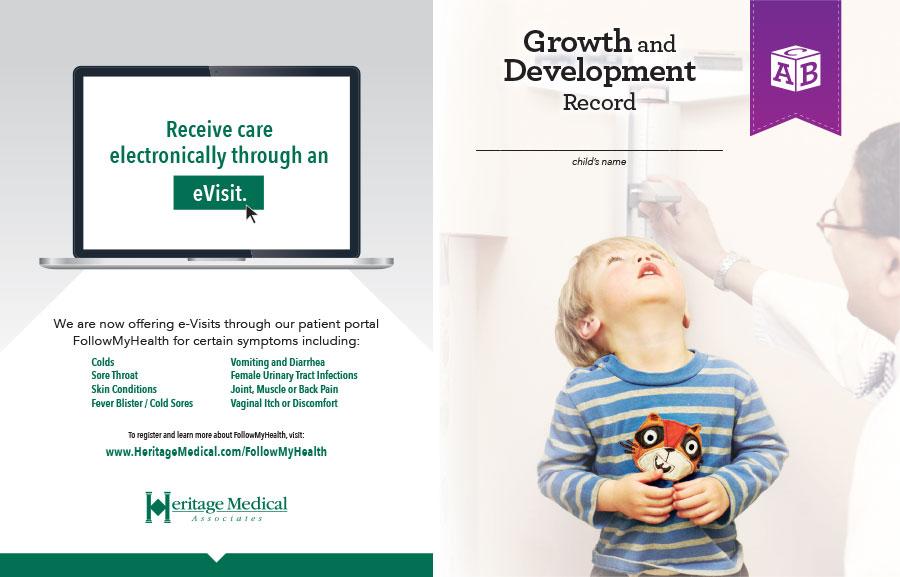 Heritage Medical Associates Printed Material Design
